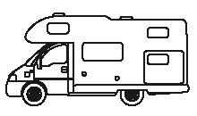 Type de camping cars : Capucine